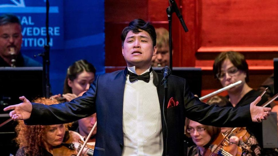 Sungho Kim im Hans Gabor Belvedere Singing Competition 2018